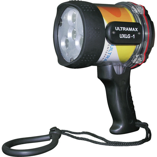 ULTRAMAX ULTRAPOWER-II 6W LED Wide-Angle Video Dive Light