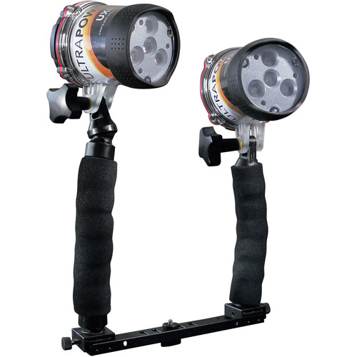 ULTRAMAX ULTRAPOWER-II 6W LED Wide-Angle Video Dive Light PRO Package