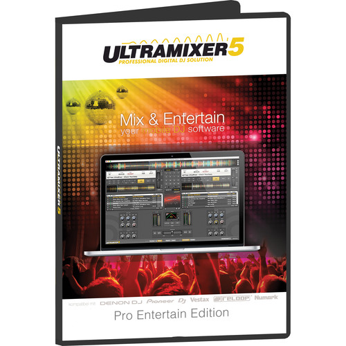 Ultramixer UltraMixer 5 Pro Entertain - Professional DJ Software (Windows, Download)