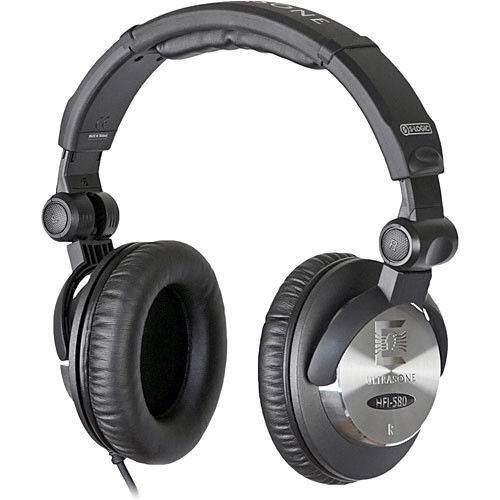 Ultrasone HFI-580 Closed-Back Stereo Headphones