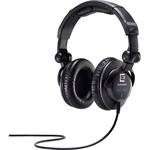 Ultrasone PRO 480i Closed-Back Stereo Headphones