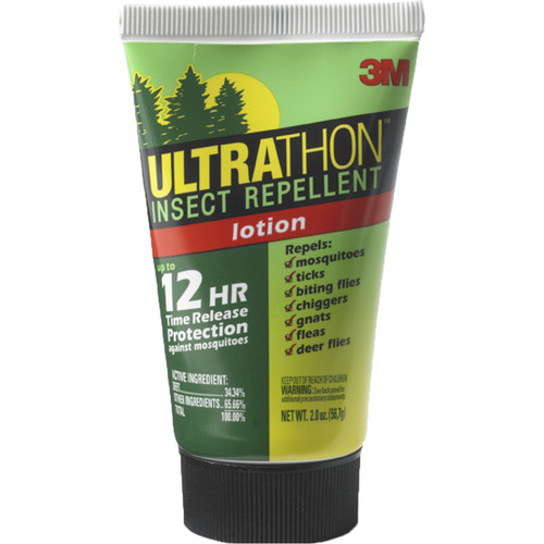 Ultrathon Insect-Repellent Lotion with 12-Hour Coverage (34% DEET, 2 fl oz)