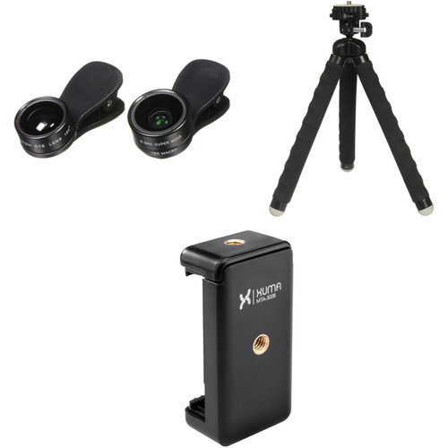 UmAid 3-in-1 Lens Mobile Photography Kit