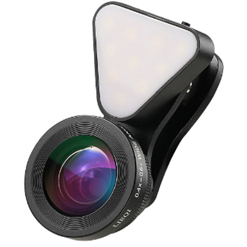 UmAid 3-In-1 Light with Lens Kit for Smartphones
