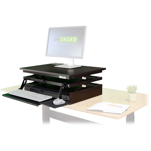 Uncaged Ergonomics Electric Changedesk Stand Up Converter