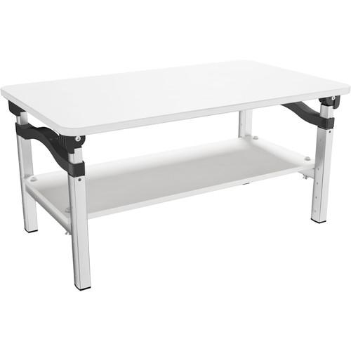 Uncaged Ergonomics LIFT Height-Adjustable Monitor Stand (White)
