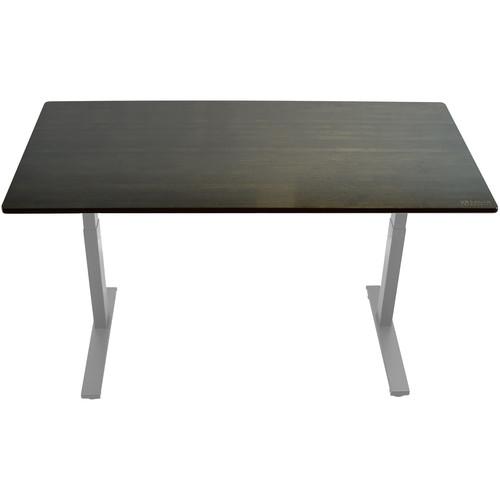"Uncaged Ergonomics 48x30"" Bamboo Electric Standing Desk"