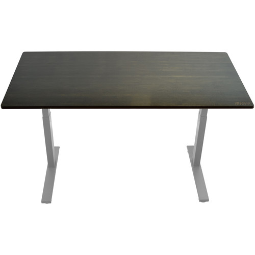 "Uncaged Ergonomics 60x30"" Bamboo Electric Standing Desk"