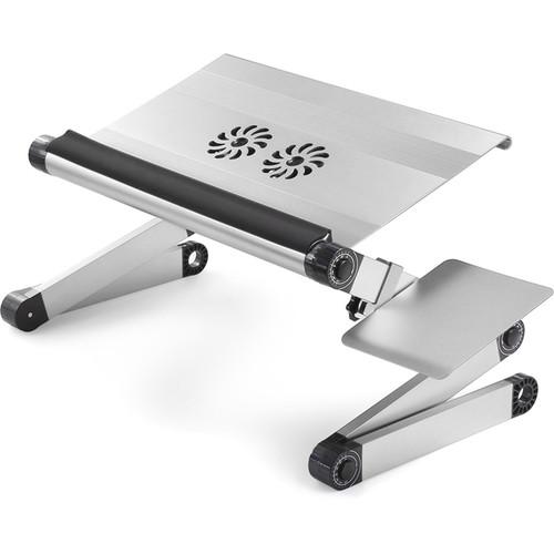 Uncaged Ergonomics Workez Cool Laptop Riser Lap Desk (Silver)