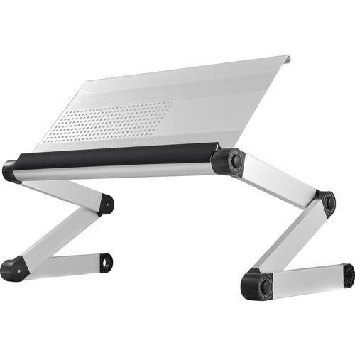 Uncaged Ergonomics WorkEZ Executive Laptop Stand (Silver)