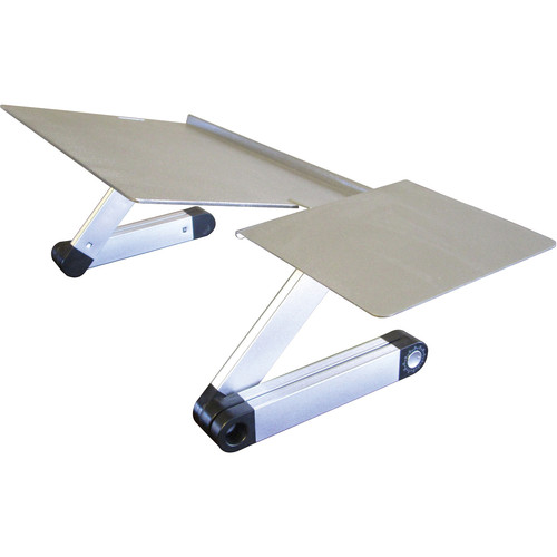 Uncaged Ergonomics Workez Keyboard Tray Stand (Silver)
