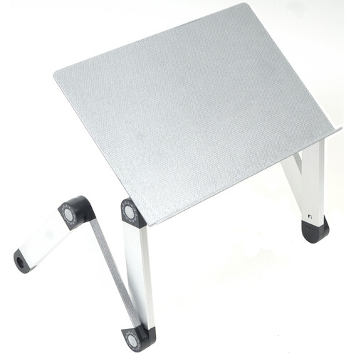 Uncaged Ergonomics Workez Professional Laptop Stand (Silver)