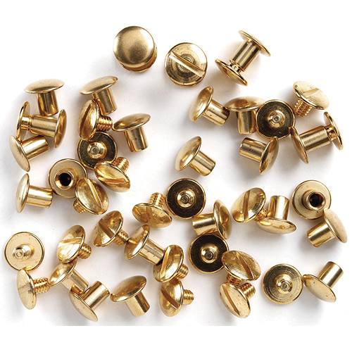 Uncle Mike's Brass Chicago Screws