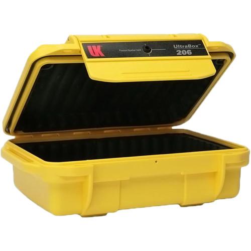 Underwater Kinetics UltraBox 206 (Yellow, Padded Box)