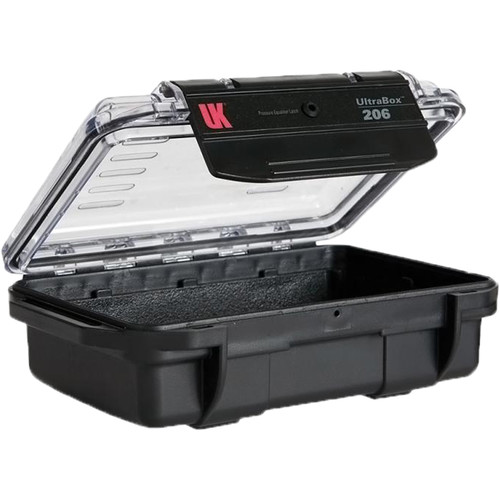 Underwater Kinetics UltraBox 206 (Black/Clear Lid, Empty Box)