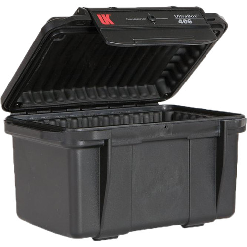 Underwater Kinetics UltraBox 406 (Black, Empty Box)