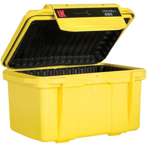Underwater Kinetics UltraBox 406 (Yellow, Padded Box)