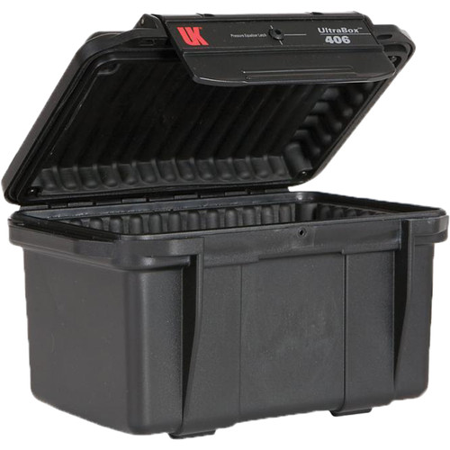 Underwater Kinetics UltraBox 406 (Black, Padded Box)