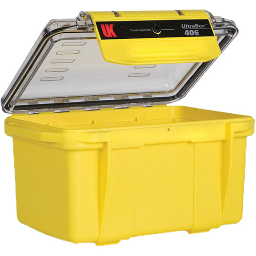 Underwater Kinetics UltraBox 406 (Yellow/Clear Lid, Empty Box)