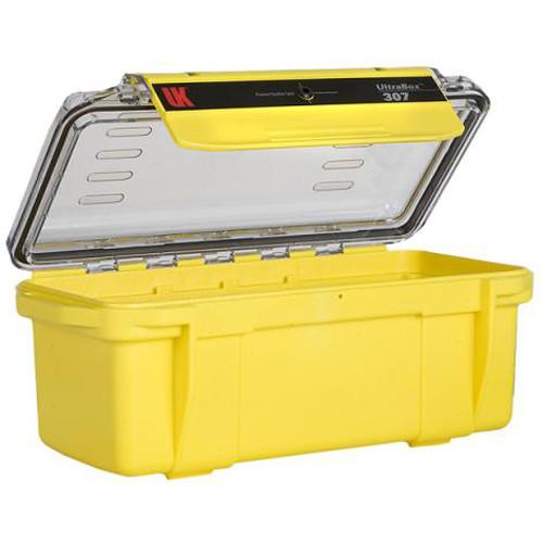 Underwater Kinetics UltraBox 307 (Yellow/Clear Lid, Empty Box)