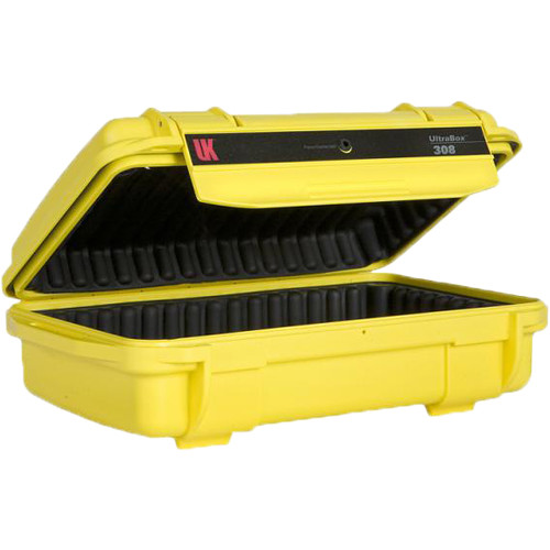 Underwater Kinetics UltraBox 308 (Yellow, Padded Box)