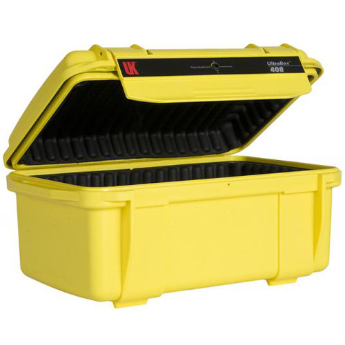 Underwater Kinetics UltraBox 408 (Yellow, Padded Box)