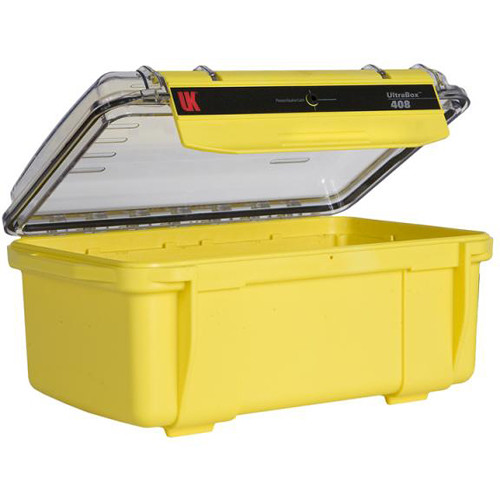 Underwater Kinetics Ultra 408 Empty Box with Clearvw Lid (Yellow)
