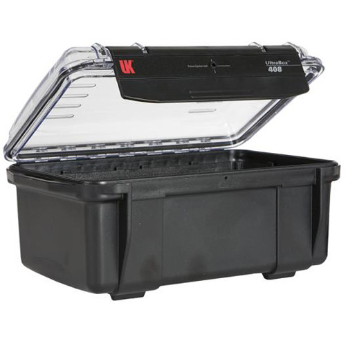 Underwater Kinetics UltraBox 408 (Black/Clear Lid, Empty Box)