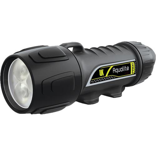 Underwater Kinetics Aqualite Pro2 Rechargeable Dive & Video Light (Black)