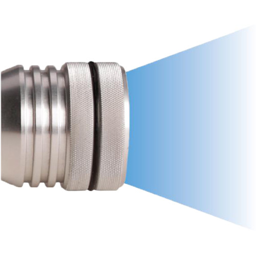 Underwater Kinetics Aqualite Pro eLED Lamp Head for Dive Light (100º, Silver)