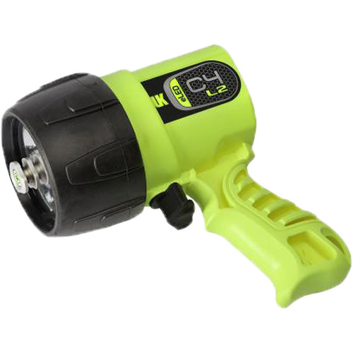Underwater Kinetics C4 eLED L2 Rechargeable Dive Light (Safety Yellow)