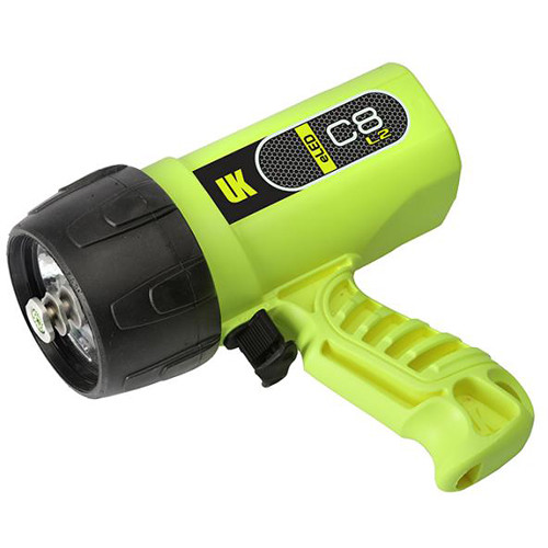 Underwater Kinetics C8 eLED L2 Rechargeable Dive Light (Safety Yellow)