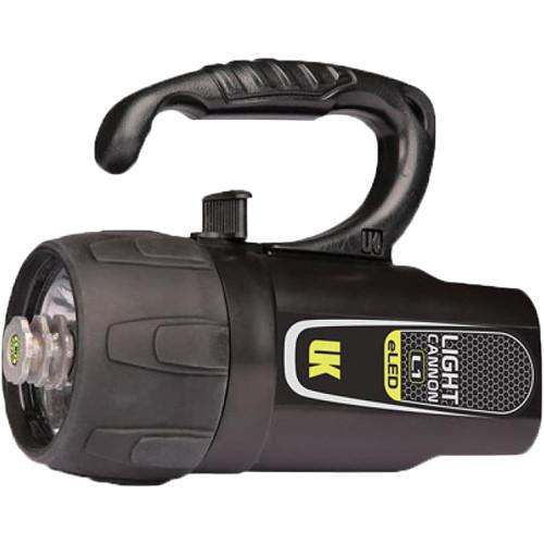 Underwater Kinetics Light Cannon eLED L1 Dive Light with Lantern Grip (Black, Box)