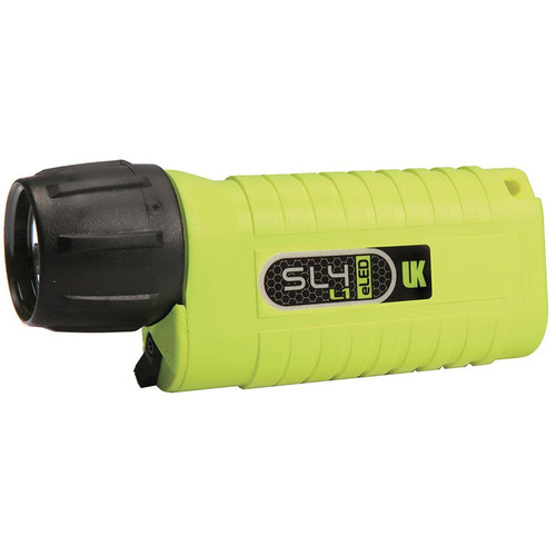Underwater Kinetics SL4 eLED L1 Dive Light (Safety Yellow, Box)