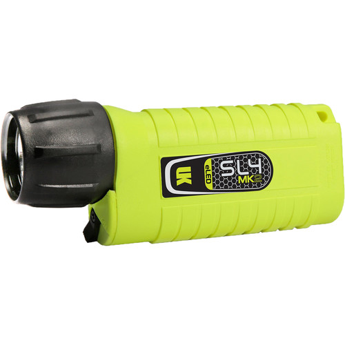 Underwater Kinetics SL4 eLED MK2 Dive Light (Safety Yellow, Pillow Pack)
