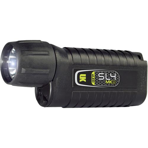 Underwater Kinetics SL4 eLED MK2 Dive Light (Black, Pillow Pack)