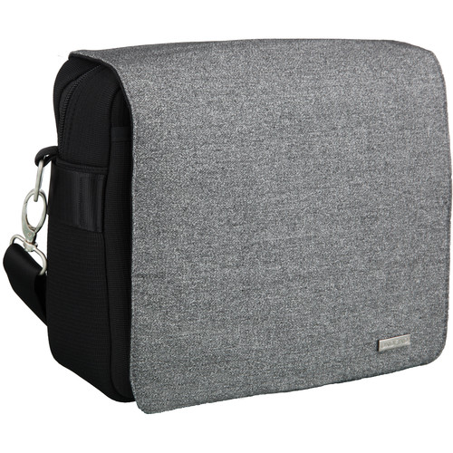 """UNDFIND One Bag 10"""" Laptop and Camera Bag (City Gray, Canvas)"""