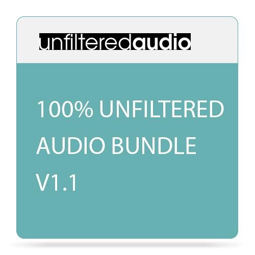 Unfiltered Audio 100% Unfiltered Audio Plug-In Bundle v1.1