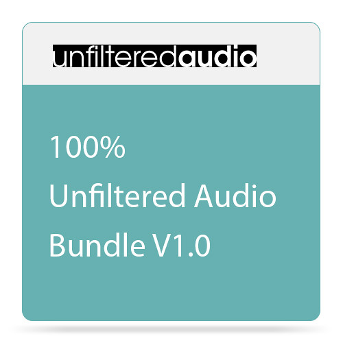 Unfiltered Audio 100% Unfiltered Audio Bundle V1.0 - Audio Processing Plug-Ins Bundle (Download)