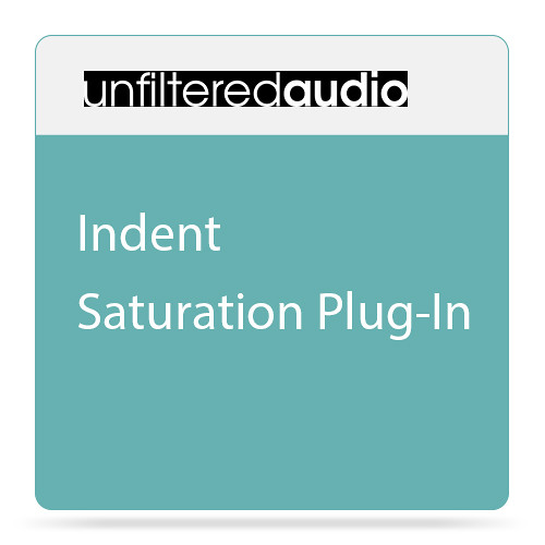 Unfiltered Audio Indent - Saturation Plug-In (Download)