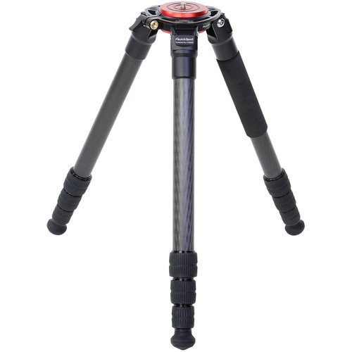 UniqBall IQuick3Pod 36.4 Carbon Fiber Tripod (Black-Red)