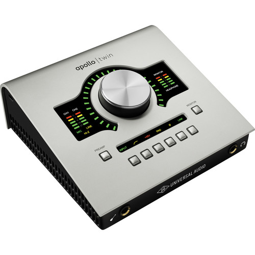 Universal Audio Apollo Twin DUO Desktop Interface with Realtime UAD Processing for Mac and Windows