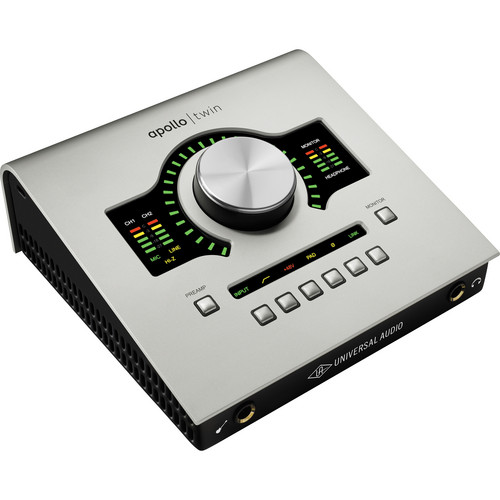 Universal Audio Apollo Twin SOLO Desktop Interface with Realtime UAD Processing for Mac and Windows
