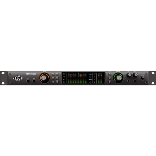 Universal Audio Apollo x8 Rackmount 18x24 Thunderbolt 3 Audio Interface with Real-Time UAD Processing