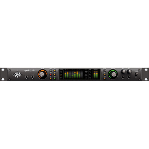 Universal Audio Apollo x8p Rack-Mountable Thunderbolt 3 Audio Interface with Real-Time UAD Processing