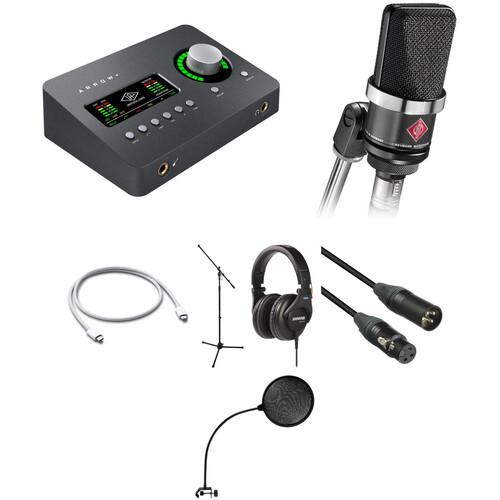 Universal Audio Arrow Audio Interface, Headphones, and Vocal Recording Kit