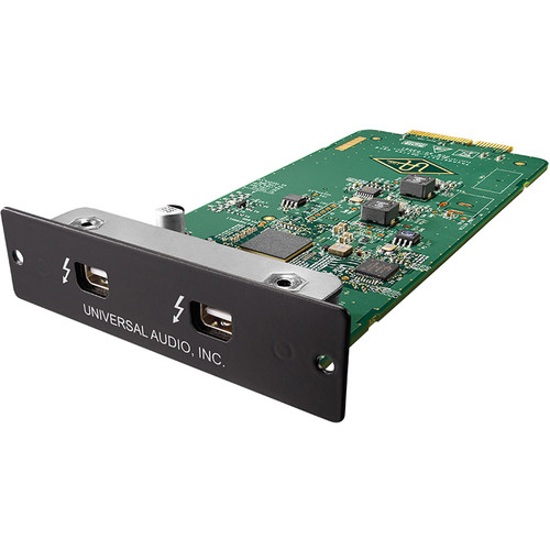 Universal Audio Thunderbolt 2 Option Card - Thunderbolt Connectivity for Apollo/Apollo 16 Interfaces