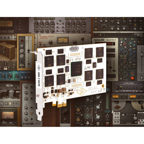 Universal Audio UAD-2 OCTO Ultimate 6 - DSP Accelerator PCIe Card with Plug-In Bundle
