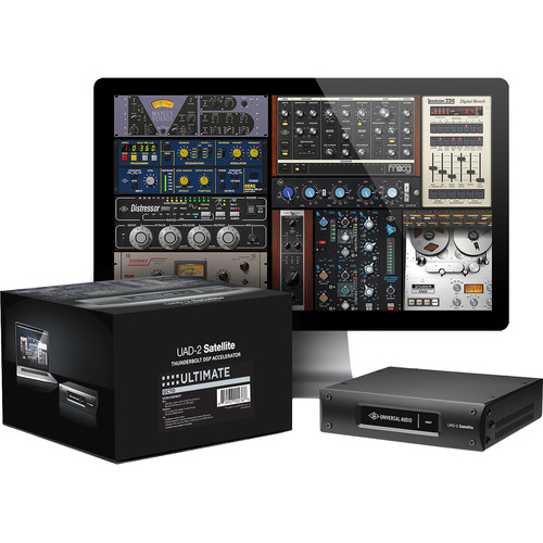 Universal Audio UAD-2 Satellite Thunderbolt OCTO Ultimate 7 - DSP Accelerator with Plug-In Bundle