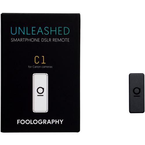Foolography Unleashed C1 Smartphone DSLR Remote for Canon 1Dx Mark II, 5D Mark IV, 5DS, 5DSRCameras